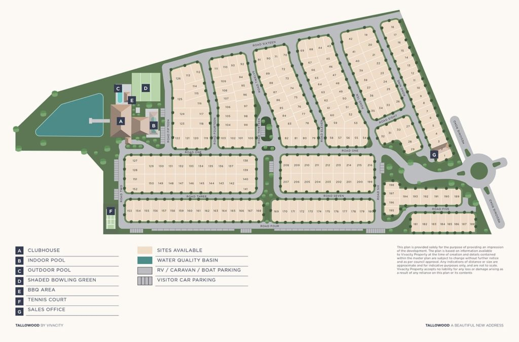Tallowood Medowie Lifestyle Village Masterplan